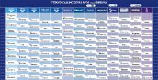 2019.09.16 (月) 【東京都】渋谷CLUB QUATTRO《TOKYO CALLING 2019》: フライヤー